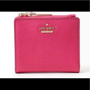 Kate Spade Adalyn Wallet in Bright Pink!